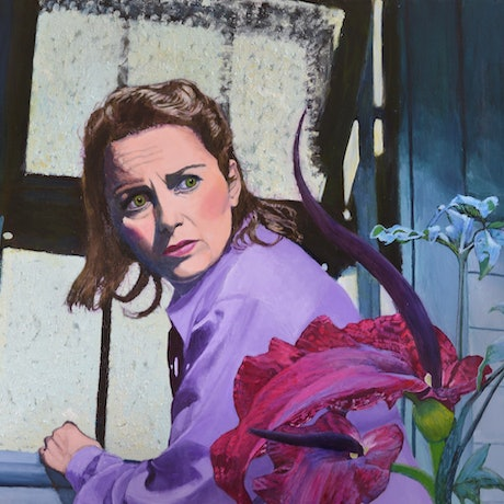 (CreativeWork) Hothouse Nightmare II by Jane Ianniello. Acrylic Paint. Shop online at Bluethumb.