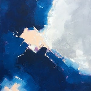 (CreativeWork) From Above by David Clare. oil-painting. Shop online at Bluethumb.