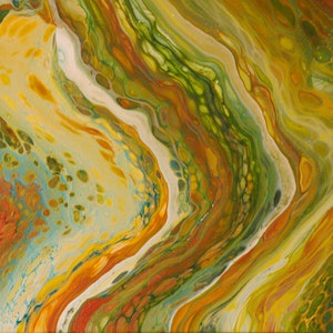 (CreativeWork) Daintree by Tania Watts. arcylic-painting. Shop online at Bluethumb.