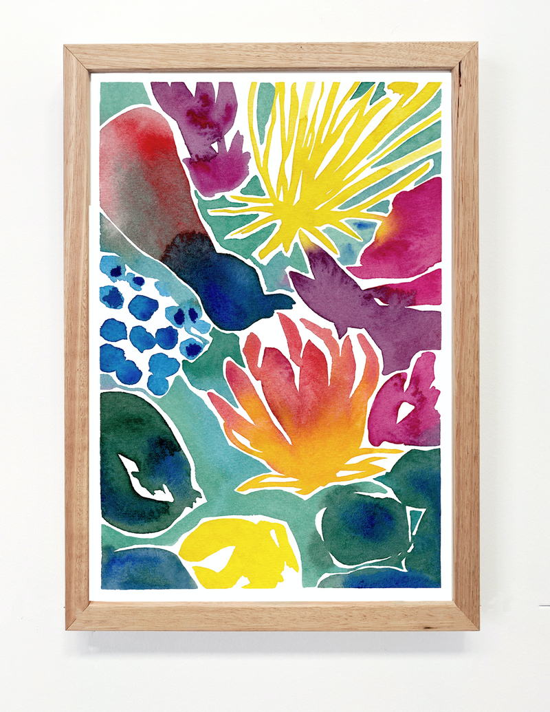 (CreativeWork) My Florescence Ed. 7 of 25 by Lyndsey Knight. Print. Shop online at Bluethumb.