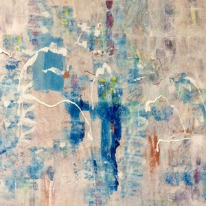 (CreativeWork) Cascade of Life by Terina Jones. arcylic-painting. Shop online at Bluethumb.
