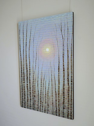 (CreativeWork) The Rising Sun by Barry Johnson. Acrylic Paint. Shop online at Bluethumb.