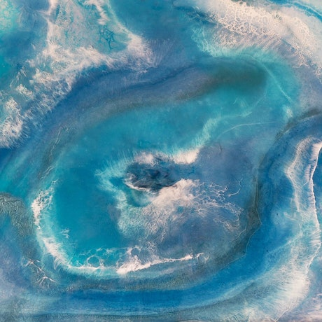 (CreativeWork) LIQUID DESTINATION 1- RESIN ARTWORK by Gabbylou Dignam. Resin. Shop online at Bluethumb.