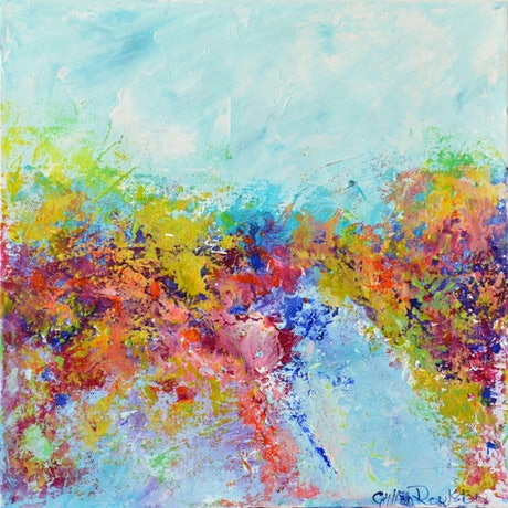 (CreativeWork) SPRING FEVER by GILLIAN ROULSTON. Acrylic Paint. Shop online at Bluethumb.