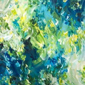 (CreativeWork) Perfect Moment by Amber Gittins. arcylic-painting. Shop online at Bluethumb.