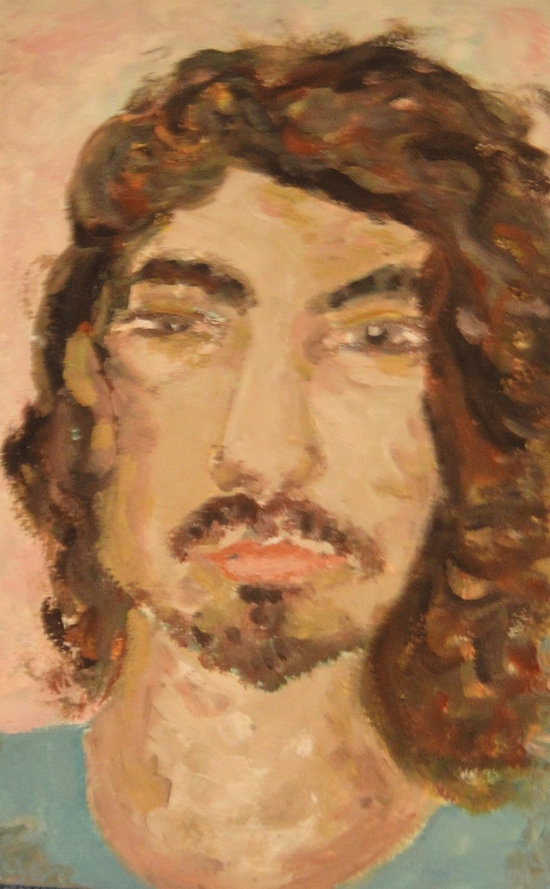 """(CreativeWork) """"Ryan"""" (mfl 81 of 230) by elij foote. Oil Paint. Shop online at Bluethumb."""