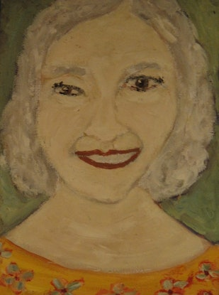 "(CreativeWork) ""Madeline"" (mfl 84 of 230) by elij foote. Oil Paint. Shop online at Bluethumb."