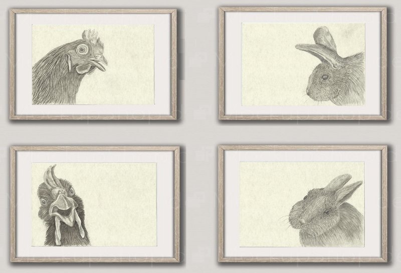 (CreativeWork) Chocolate Eggs? by Julie-Anne Gatehouse. Drawings. Shop online at Bluethumb.