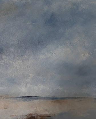(CreativeWork) South Coast III by Allison Taplin. Oil Paint. Shop online at Bluethumb.
