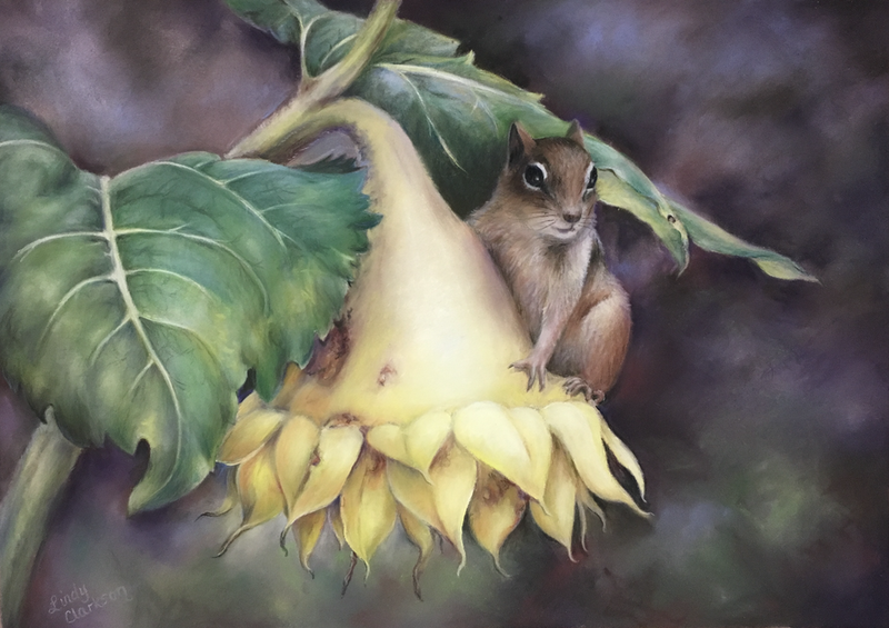 """(CreativeWork) """"In the Forest"""" pastel painting by Lindy Clarkson  by Lindy Clarkson. Drawings. Shop online at Bluethumb."""