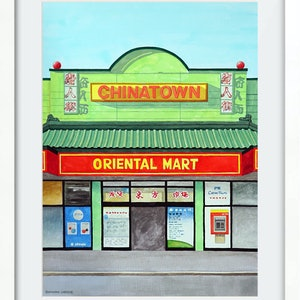 (CreativeWork) 'Orient X-press' by Donovan Christie. watercolour. Shop online at Bluethumb.