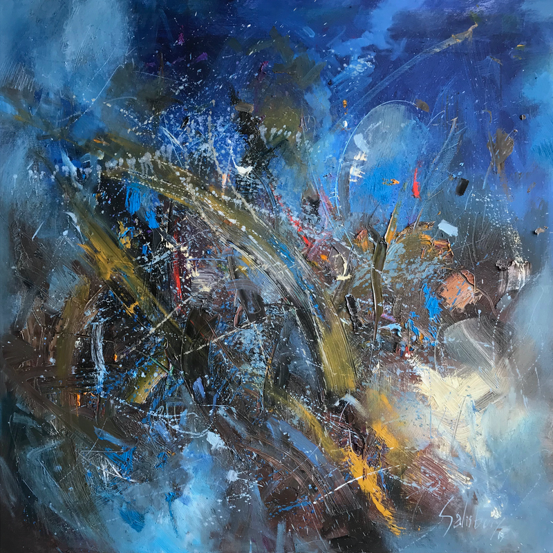(CreativeWork) response of reason by Trevor Salisbury. Oil Paint. Shop online at Bluethumb.