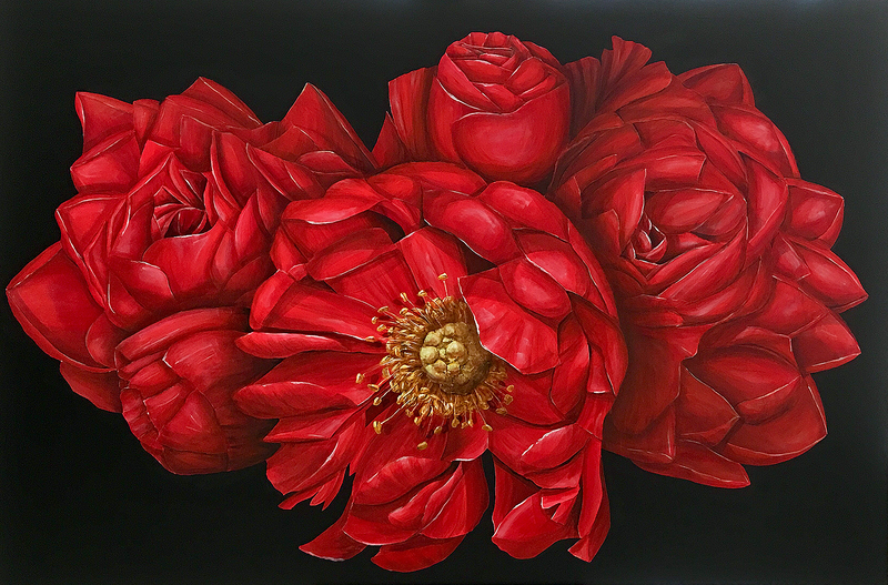 (CreativeWork) UNCONSCIOUS PERFECTION by Treena Seymour. Acrylic Paint. Shop online at Bluethumb.