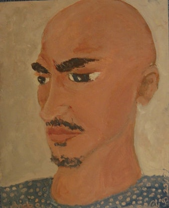 """(CreativeWork) """"Andrew"""" (mfl 156 of 230) by elij foote. Oil Paint. Shop online at Bluethumb."""
