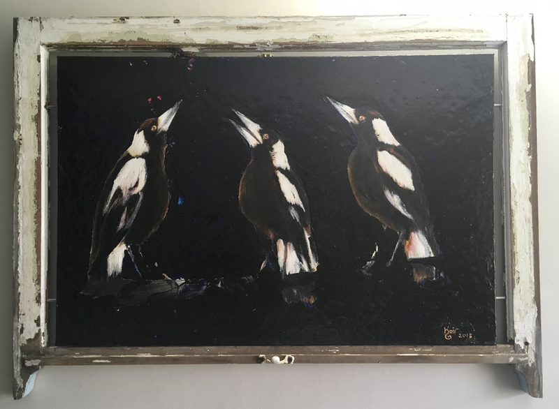 (CreativeWork) Beautiful Music by Keir Jamieson. Acrylic Paint. Shop online at Bluethumb.