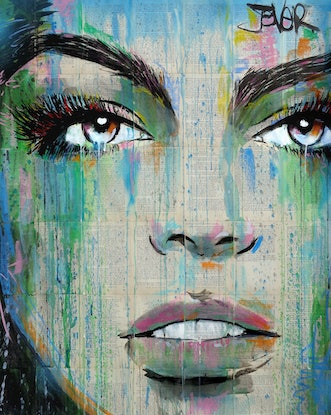 (CreativeWork) I AM by loui jover. Drawings. Shop online at Bluethumb.