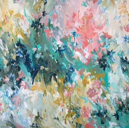 (CreativeWork) Outback Magic by Amber Gittins. Acrylic Paint. Shop online at Bluethumb.