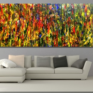 (CreativeWork) My Yellow Place by Estelle Asmodelle. arcylic-painting. Shop online at Bluethumb.