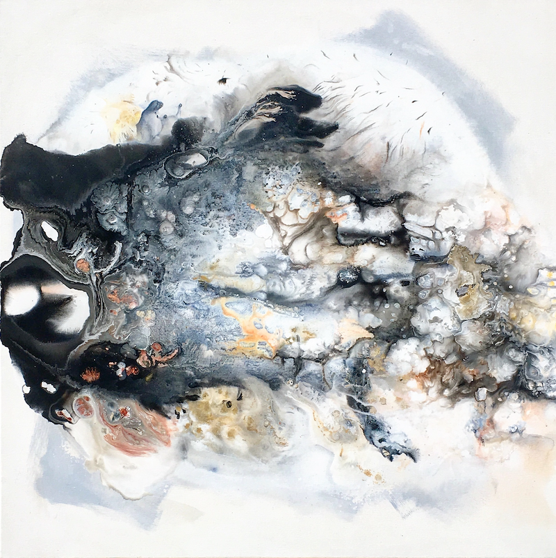 (CreativeWork) Out of the Ashes  by helene hardy. Acrylic Paint. Shop online at Bluethumb.