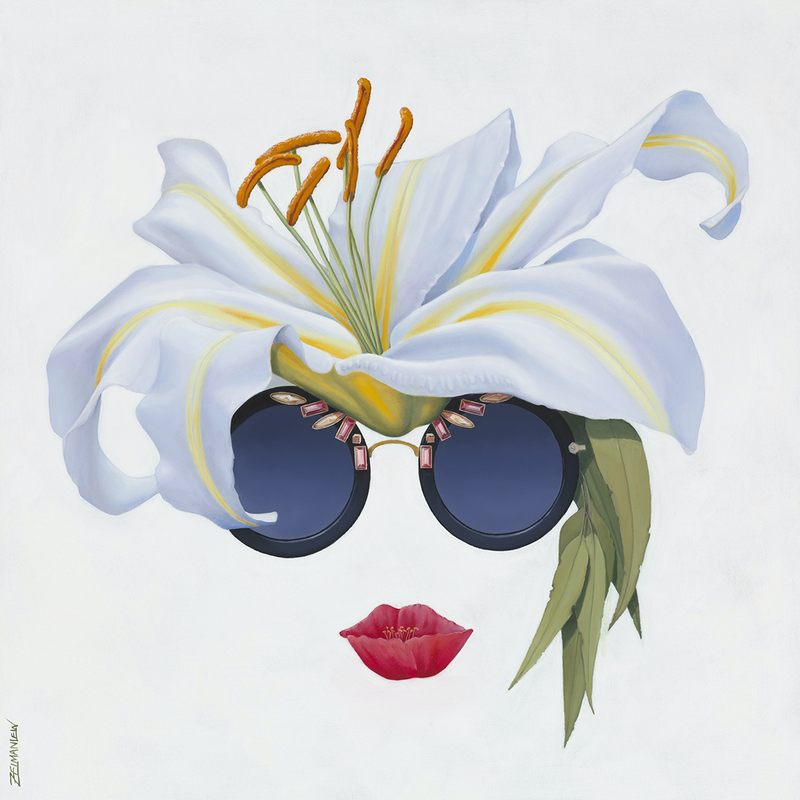 (CreativeWork) Lillyface Ed. 21 of 50 by Zelman Lew. Print. Shop online at Bluethumb.