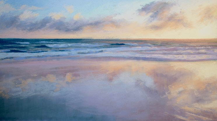 (CreativeWork) Morning Reflections by Tricia Taylor. Drawings. Shop online at Bluethumb.