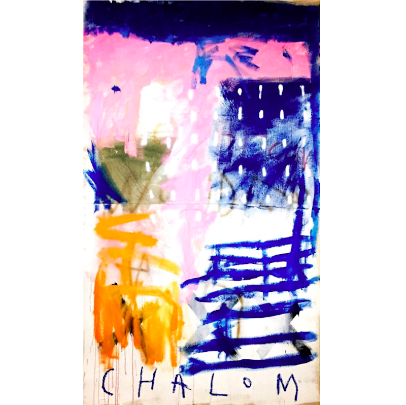 (CreativeWork) In Dreams 3 by Chalom (Mike Lane). Acrylic Paint. Shop online at Bluethumb.