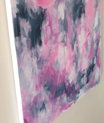 (CreativeWork) Endless Love by Anna Pontikis. Acrylic Paint. Shop online at Bluethumb.