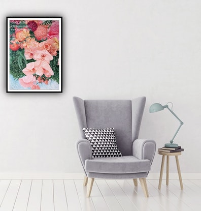 (CreativeWork) A Life Time Journey - Limited Edition Giclee Print - Standard A1 Size - Easy To Frame  Ed. 14 of 100 by HSIN LIN. Print. Shop online at Bluethumb.
