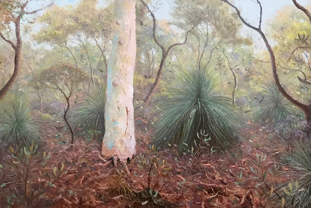 (CreativeWork) Noosa National Park No1. by Howard Sparks. Oil Paint. Shop online at Bluethumb.