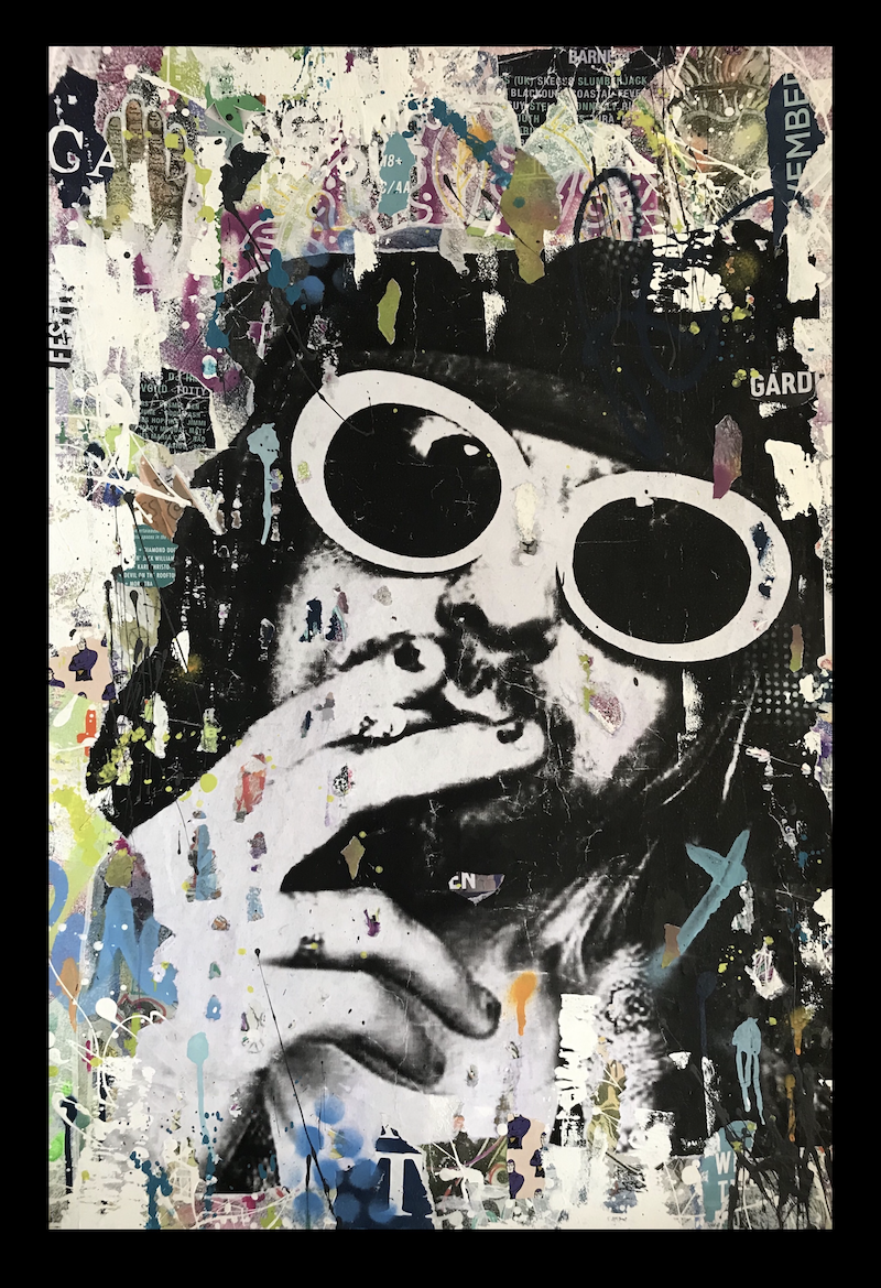 (CreativeWork) Been A Son by Cold Ghost. Mixed Media. Shop online at Bluethumb.