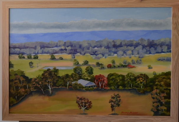 (CreativeWork) The Gathering Storm by Murray McLeod. Oil Paint. Shop online at Bluethumb.