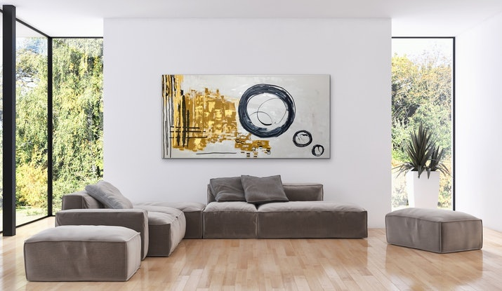 (CreativeWork) Celtic Circle Of Love by Myra Carter. Acrylic Paint. Shop online at Bluethumb.