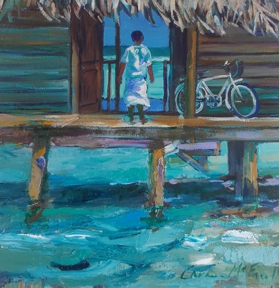 (CreativeWork) Living The Dream by Carmen McFaull. Oil Paint. Shop online at Bluethumb.
