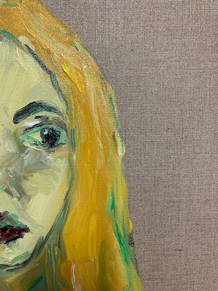 (CreativeWork) They call me Wattle by Anna Constantine. Oil Paint. Shop online at Bluethumb.