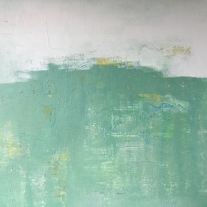 (CreativeWork) Abstract minimalist landscape by Patricia Galloway. arcylic-painting. Shop online at Bluethumb.