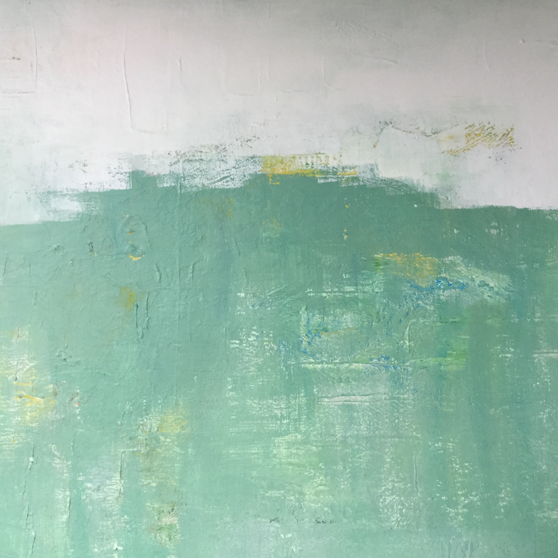 (CreativeWork) Abstract minimalist landscape by Patricia Galloway. Acrylic Paint. Shop online at Bluethumb.