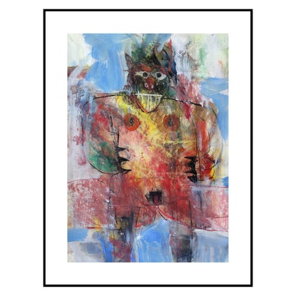 (CreativeWork) Lady Demon by John Graham. Mixed Media. Shop online at Bluethumb.