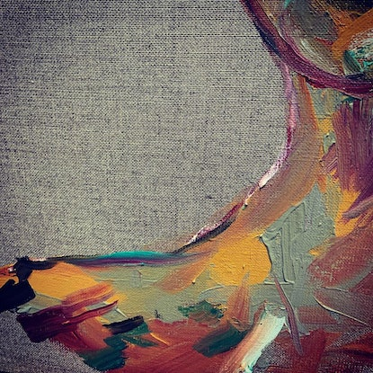 (CreativeWork) All the women  by Anna Constantine. Oil Paint. Shop online at Bluethumb.