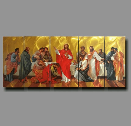 (CreativeWork) The Last Supper Wall Art   by Jason Tremewen. Other Media. Shop online at Bluethumb.