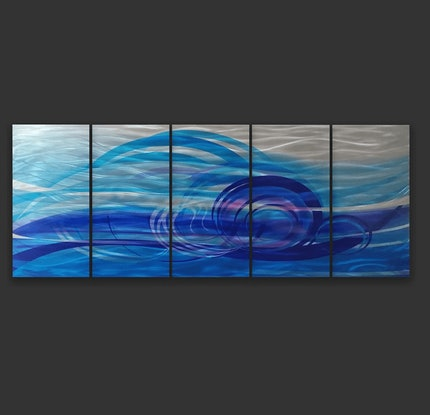 (CreativeWork) Oceans current by Jason Tremewen. Other Media. Shop online at Bluethumb.
