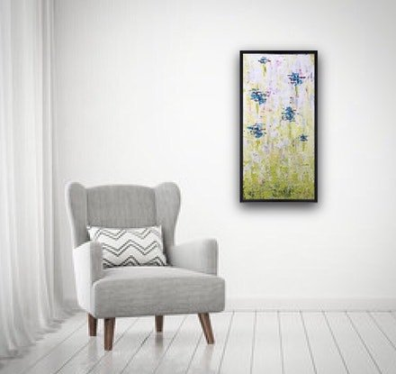 (CreativeWork) Canberra by And Then She Painted. Acrylic Paint. Shop online at Bluethumb.