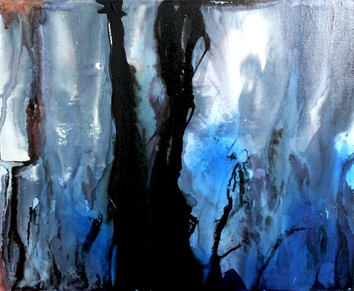 (CreativeWork) Land of tears by Xenia Williams. Mixed Media. Shop online at Bluethumb.