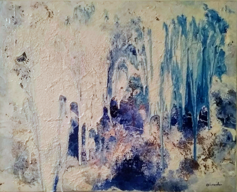 (CreativeWork) It Happens by Anthony Alexander. Mixed Media. Shop online at Bluethumb.
