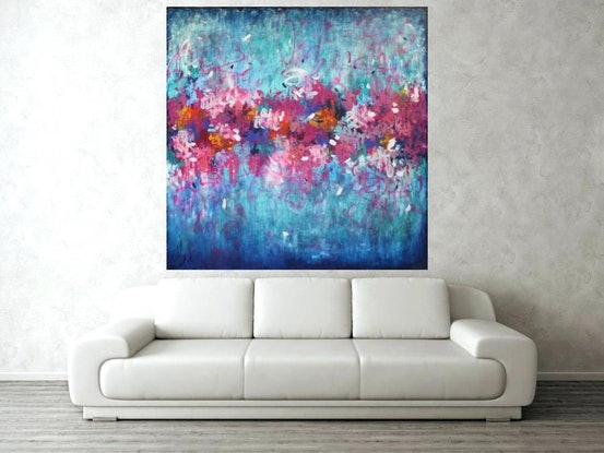 (CreativeWork) Wild Thing by Belinda Nadwie. Oil Paint. Shop online at Bluethumb.