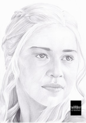(CreativeWork) Dracarys by Lawrance Singh. Drawings. Shop online at Bluethumb.