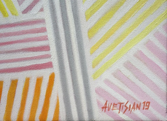 (CreativeWork) Summertime by Arthur Avetisian. Oil Paint. Shop online at Bluethumb.