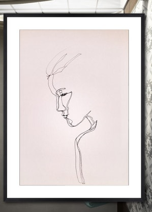 (CreativeWork) All that remains -Framed  by Phil Herbison. Drawings. Shop online at Bluethumb.