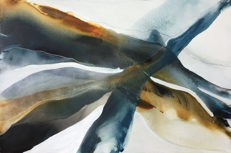 (CreativeWork) Tidewater 2  by Dinah Wakefield. Acrylic Paint. Shop online at Bluethumb.
