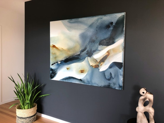 (CreativeWork) Reef  by Dinah Wakefield. Acrylic Paint. Shop online at Bluethumb.