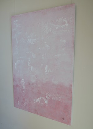(CreativeWork) Frosted Plum by Barry Johnson. Acrylic Paint. Shop online at Bluethumb.